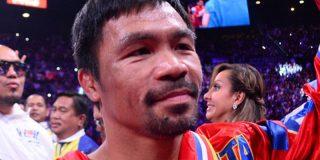 La leyenda filipina del boxeo Manny Pacquiao se convierte en campeón mundial por novena vez tras derrotar a Keith Thurman