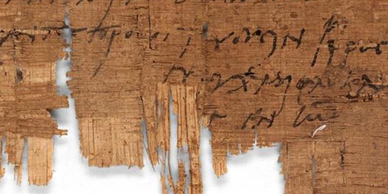 Encuentran el manuscrito cristiano más antiguo del mundo