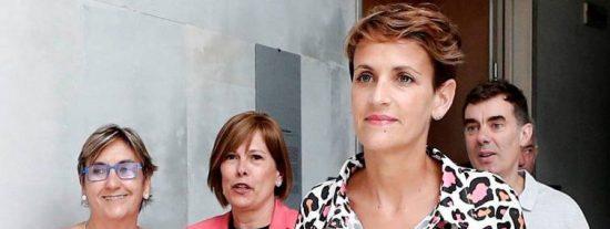 """María Chivite traspasa todos los límites de la indignidad: """"La derecha vivía mejor con ETA"""""""