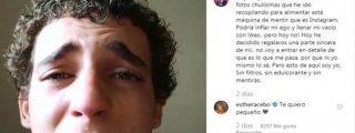 """Miguel Herrán, protagonista de 'La Casa de Papel', hundido, asegura """"sentirse vacío"""" y llora desconsoladamente en Instagram"""