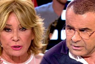 Mila Ximénez indignada con Jorge Javier Vázquez por la aduladora entrevista que hizo a Isabel Pantoja