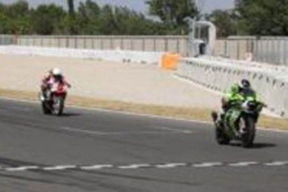 Muere el piloto del equipo Motocom, Aurelio Martínez en los entrenamientos de las 24 Horas de Montmeló