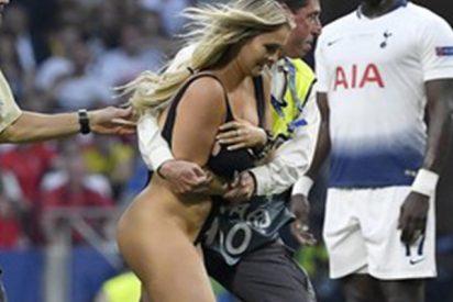 La 'friki' semidesnuda de la Champions planeaba una acción en la Copa América, pero acabó en la cárcel