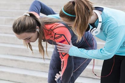 La contaminación afecta gravemente a los deportistas