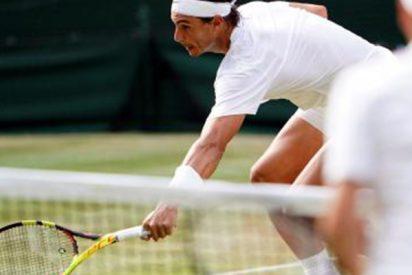Así fue el increíble punto de Nadal a Federer que levantó a la grada de Wimbledon