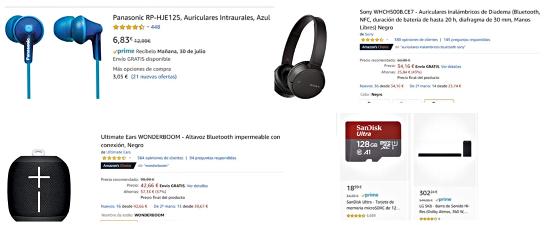 Amazon electrónica rebajas