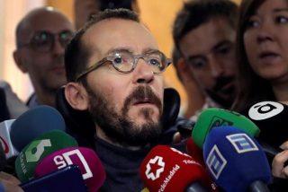 Pablo Echenique descarrila con un ataque a la prensa para tapar el rebote con Sánchez por difuminar a Iglesias