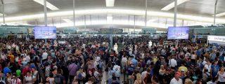 La huelga del personal de Iberia en Barcelona-El Prat obliga a cancelar cientos de vuelos
