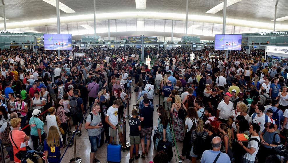 """Manuel del Rosal: """"El aeropuerto del Prat como síntoma de la degradación y perversión del gobierno en general y de Sánchez en particular."""""""