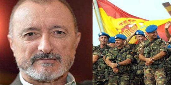 Pérez-Reverte lanza esta reflexión defendiendo a los soldados y héroes españoles y provoca un polémico debate