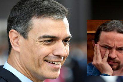 Pedro Sánchez está haciendo 'picadillo' a Pablo Iglesias, insensible a sus súplicas y lamentos