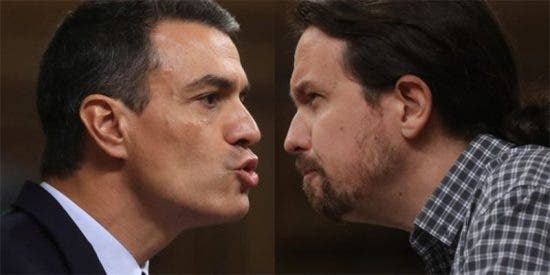 ¿Sabes quién fue el socialista que estuvo detrás del mensaje que recibió Pablo Iglesias durante la segunda votación fallida de Sánchez?