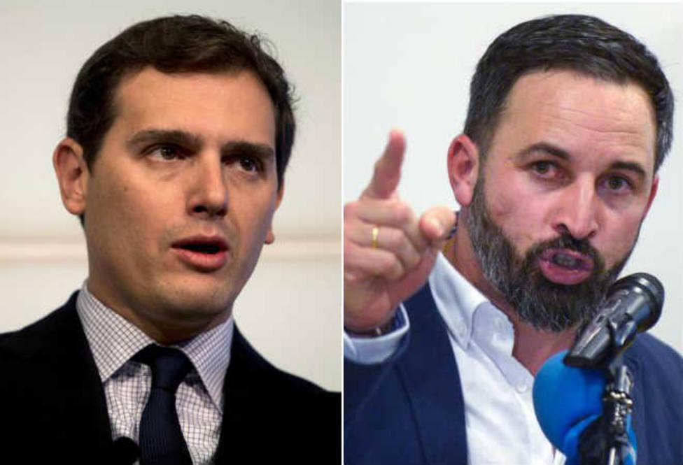 """La cerril bronca entre Vox y Ciudadanos ante la que el PSOE se frota las manos: """"Loco, jeta, acojonado, sinvergüenza..."""""""
