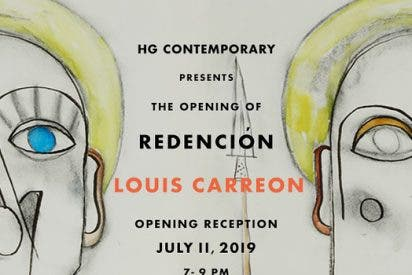 Louis Carreon presenta 'Redención' en la galería HG Contemporary de Madrid