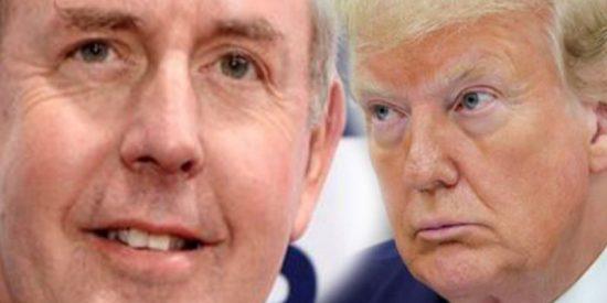 """Renuncia 'forzada' del embajador británico en Estados Unidos que calificó al gobierno de Trump de """"torpe e inepto"""""""