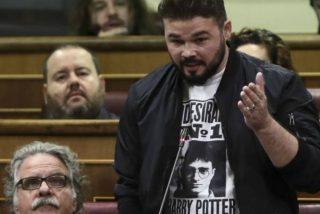 Gabriel Rufián pierde los nervios con un articulista de La Vanguardia por sacar a la luz sus vergüenzas políticas