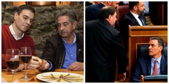 Sánchez, a la investidura hay que ir con algo más que las anchoas de Revilla, la deslealtad golpista y la propia egolatría