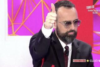 El informe que acaba con las trolas de Risto Mejide: la productora de su programa se lo lleva crudo de la Generalitat