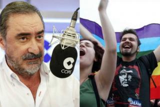 """Carlos Herrera, a los gays pastoreados por la izquierda: """"¿Vosotros sabéis lo que decía de los maricones el Che Guevara?"""""""