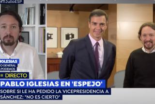 Iglesias se va a llorar al hombro de Griso tras la enésima humillación de Sánchez: ¡se enteró por los medios de que le iba a llamar!