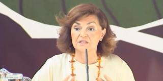 Las redes explotan contra la 'choni' Carmen Calvo y le recuerdan que el PSOE se gastó el dinero de los parados en putas
