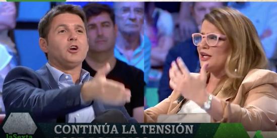 María Claver le da dos tazas de extrema derecha a Cintora con citas de los racistas Sabino Arana y Quim Torra