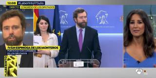 El Quilombo: Espinosa de los Monteros se harta de la sustituta de Griso y la manda a freír espárragos por llamarle 'populista'