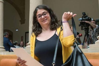"""Santi González se cachondea de la podemita que tumbó el Gobierno del PSOE en La Rioja: """"Poco culo para ocupar tanta silla"""""""