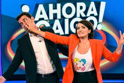 Silvia Abril recibe un aluvión de críticas como sustituta de Arturo Valls en 'Ahora Caigo'