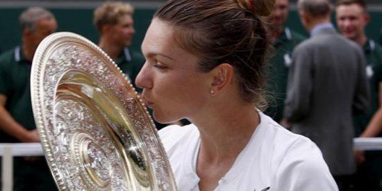 Simona Halep derrota a Serena Williams 6-2, 6-2 y gana su primer Wimbledon