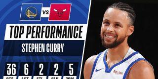 Stephen Curry: Las 10 canastas 'imposibles' de un genio del baloncesto