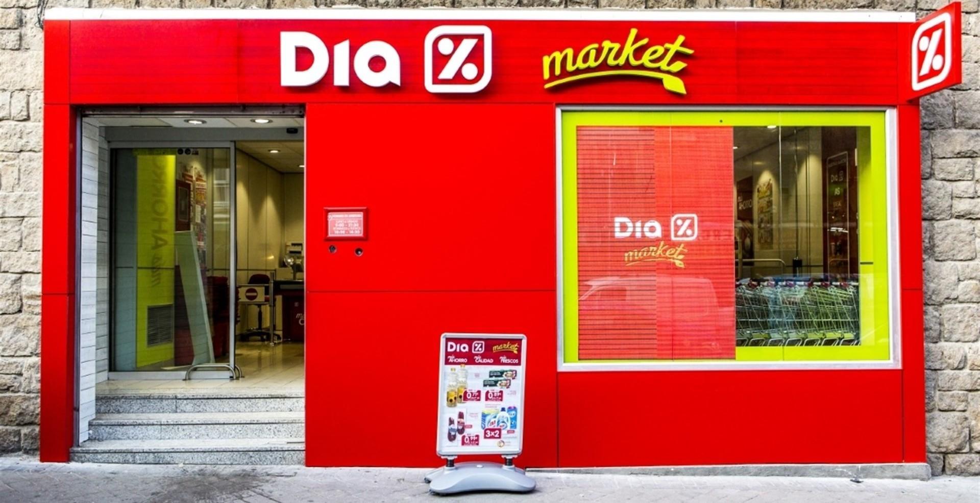 Supermercados 'DIA' se salva de la quiebra técnica y se dispara en Bolsa
