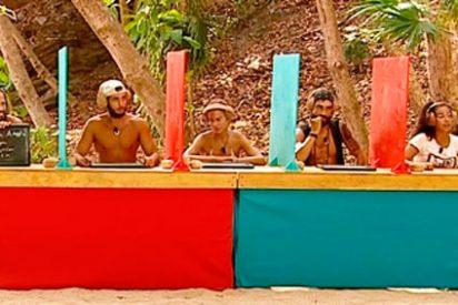 Los concursantes de 'Supervivientes', excepto Albert, demuestran que son unos 'burros'.