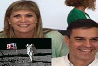 Susana Ros, diputada del PSOE, pone en duda que el hombre llegara a la Luna... y luego se 'c**a?