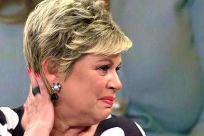 Terelu Campos no soporta las criticas que ha recibido por la venta de su piso y saca su carácter