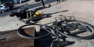 Unos vándalos destrozan la escultura de homenaje a Federico Martín Bahamontes