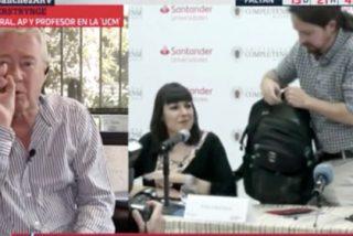 """El chamán podemita ya no sabe qué decir para que Iglesias toque Gobierno: """"A quien preocupan los sillones es al PSOE... ¡que no suelta ni uno!"""""""