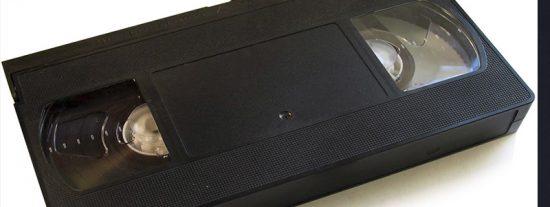 El VHS; tecnología punta en los 80 y los 90