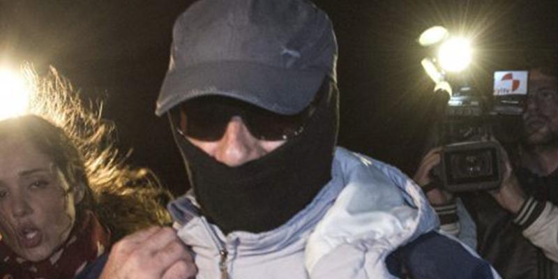 Funcionarios encuentran al 'violador del ascensor' inconsciente en su celda de Herrera de la Mancha junto a una nota de despedida