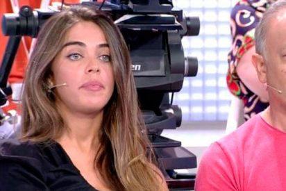 La 'díscola' Violeta ahora se cabrea porque su noviete Fabio defiende más a Isabel Pantoja que a ella