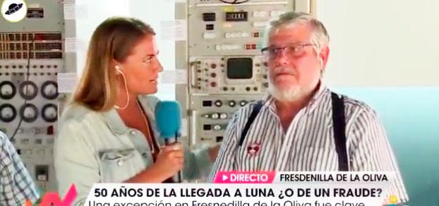 En 'Viva la vida' hacen el ridículo más espantoso al entrevistar a un técnico español de la misión Apolo XI