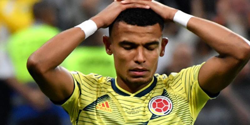 Este jugador colombiano recibe amenazas de muerte tras fallar un penalti en la Copa América