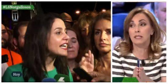 """¡Mátame camión! Angélica Rubio culpa a Inés Arrimadas de las agresiones a Ciudadanos en el orgullo gay: """"Ya tiene el titular que buscaba"""""""