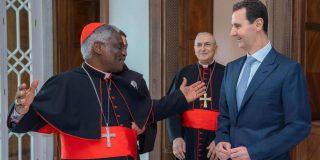 Francisco expresa a Bashar al-Assad su 'preocupación' por la situación en Siria