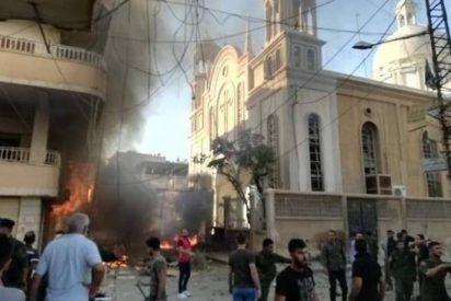 Al menos doce heridos en un atentado con coche bomba contra una iglesia en Siria
