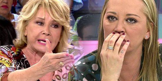 Pánico en T5: mientras se plantea abandonar 'Sálvame', Mila Ximénez le da el hachazo definitivo a Belén Esteban