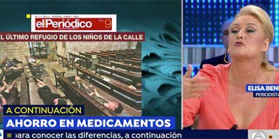 """Elisa Beni, sin filtros: defiende a los peligrosos 'menas' magrebíes que violan y delinquen: """"Son niños, merecen compasión"""""""