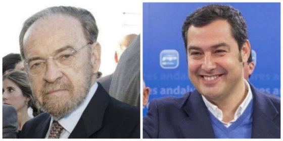 Antonio Burgos le exige al popular Moreno Bonilla que espabile y le dé la estocada definitiva al PSOE sacando a la luz todos sus chanchullos