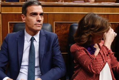 Carmen Calvo, pillada mintiendo: demuestran que fue ella la que filtró el documento con las exigencias de Podemos a la SER