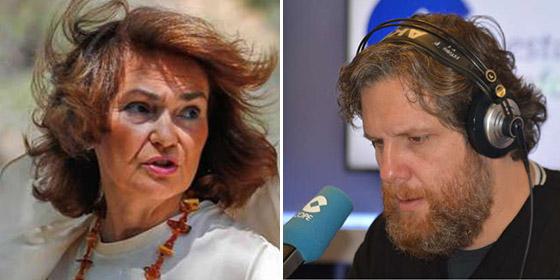 La descomunal burla de Gistau contra Carmen Calvo y los socialistas con complejo de superioridad moral
